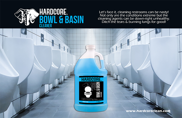 Bowl and Basin makes dirty work clean and easy.